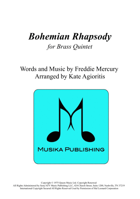 Bohemian Rhapsody - for Brass Quintet