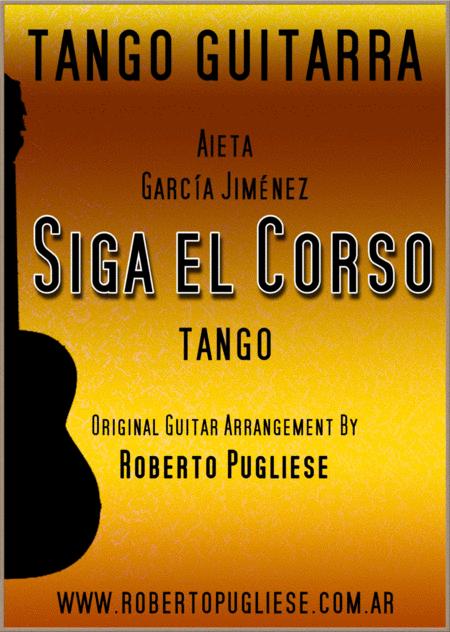Siga el corso - guitar tango