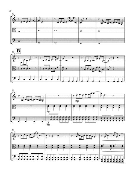 Yellow - String Trio (Violin, Viola and Cello)