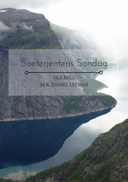 Saeterjentens Sondag for Flute & Piano
