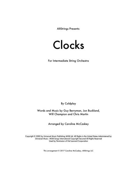 Clocks - String Orchestra