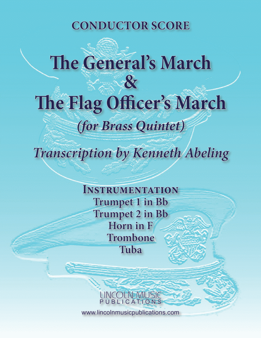 March - Generals & Flag March (for Brass Quintet)