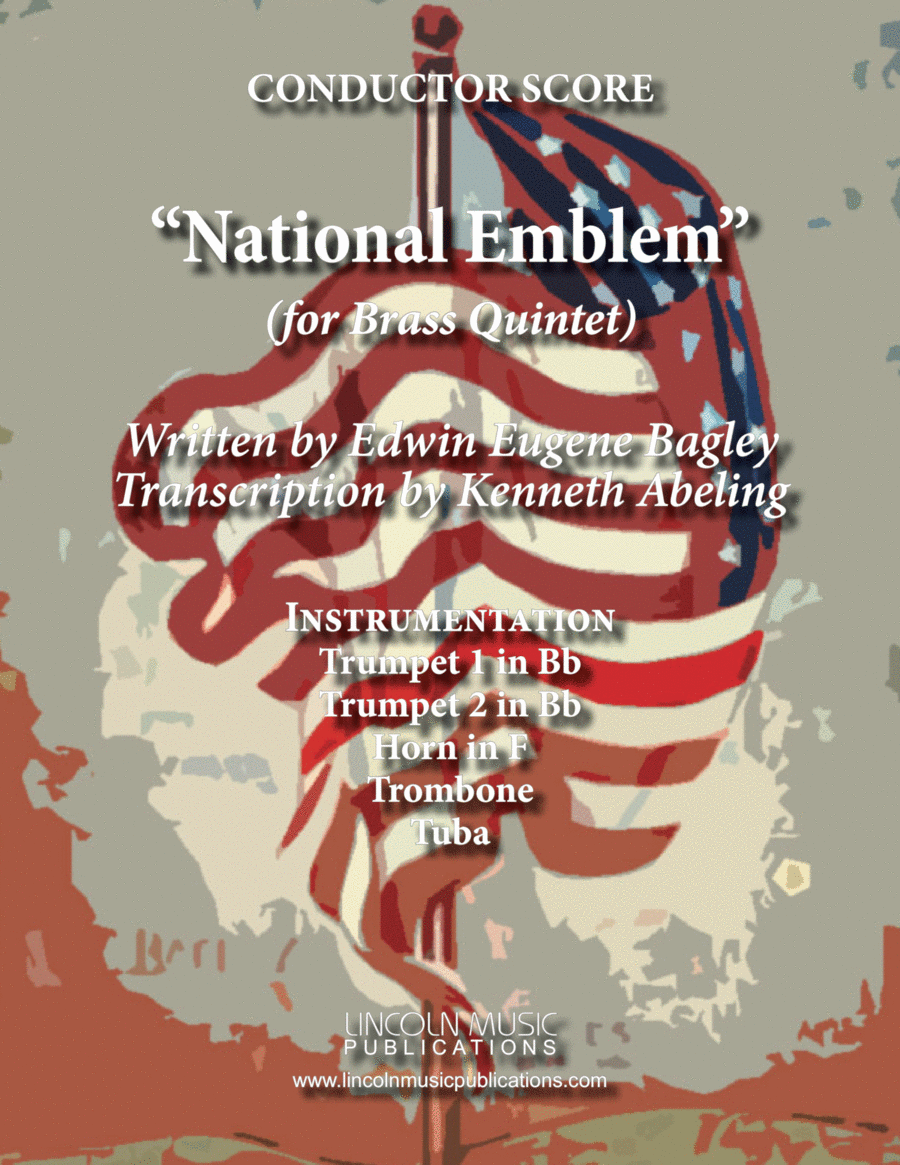 March - National Emblem (for Brass Quintet)