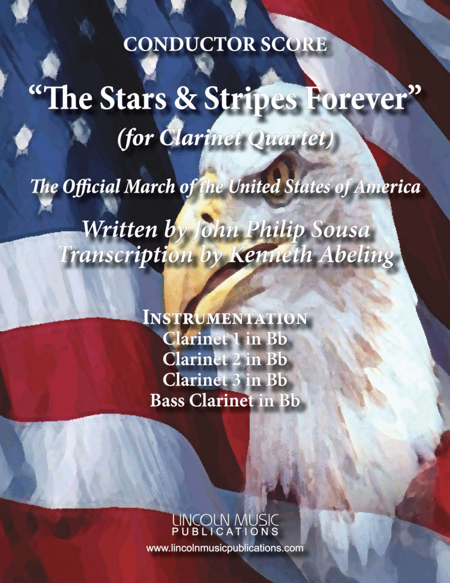 March - The Stars and Stripes Forever (for Clarinet Quartet)