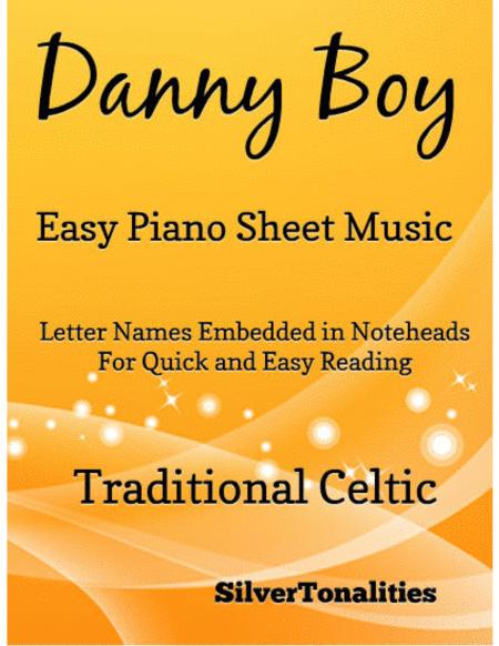 Danny Boy Easy Piano Sheet Music