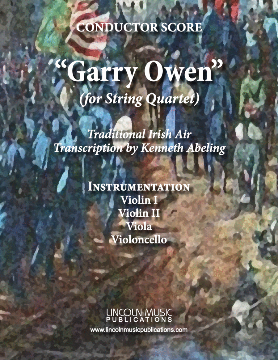 March - Garry Owen (for String Quartet)