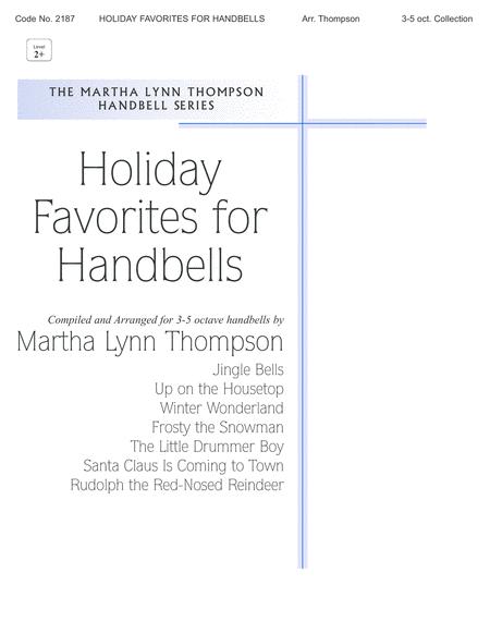 Holiday Favorites For Handbells