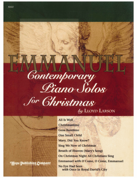 Emmanuel: Contemporary Piano Solos for Christmas