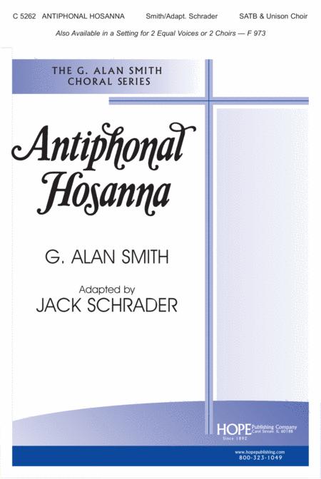 Antiphonal Hosanna
