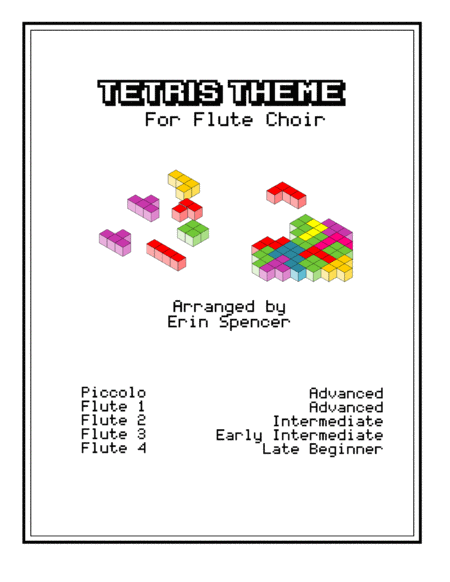 Tetris Theme for Flute Choir