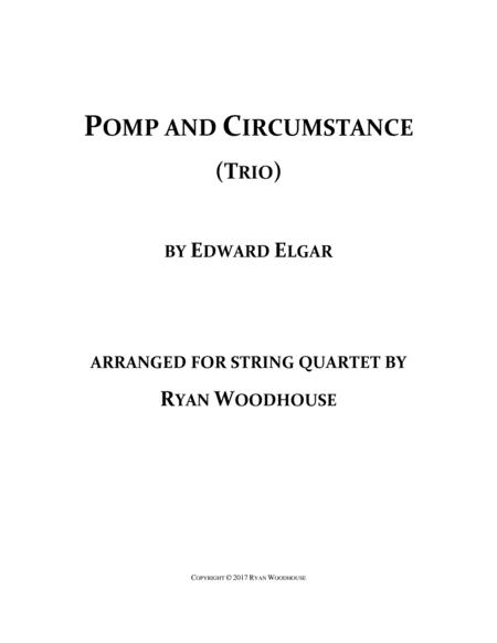 Pomp and Circumstance - String Quartet