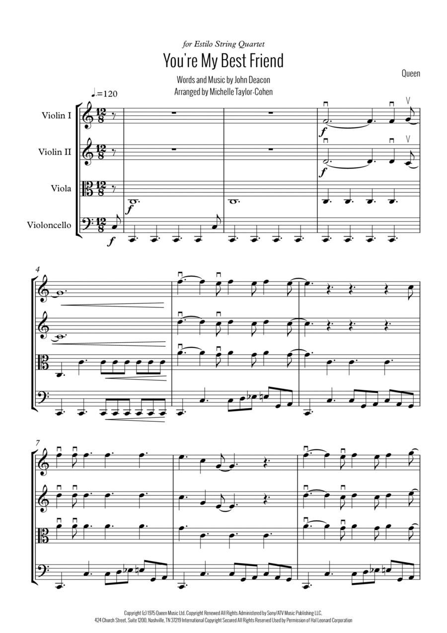 You're My Best Friend (String Quartet)