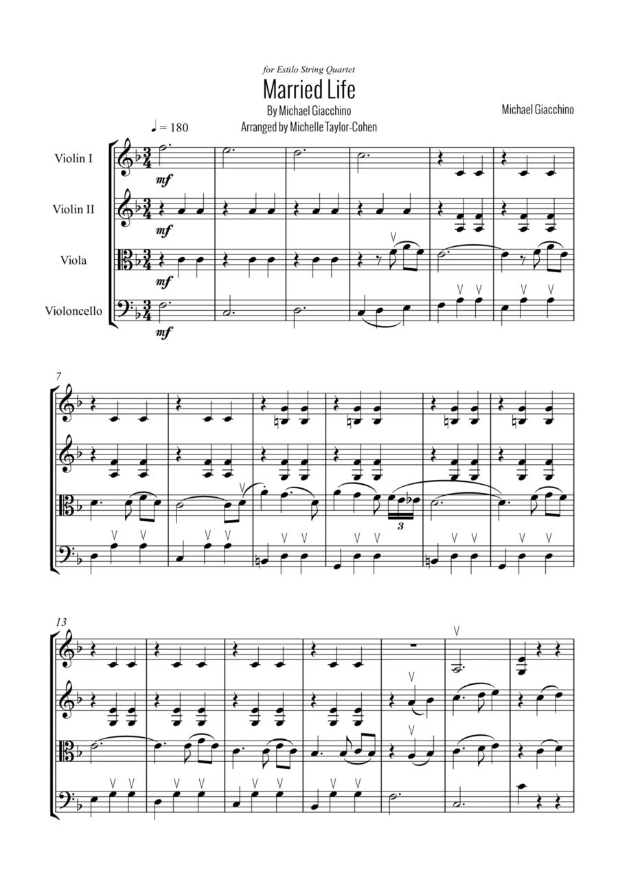 Married Life (String Quartet)