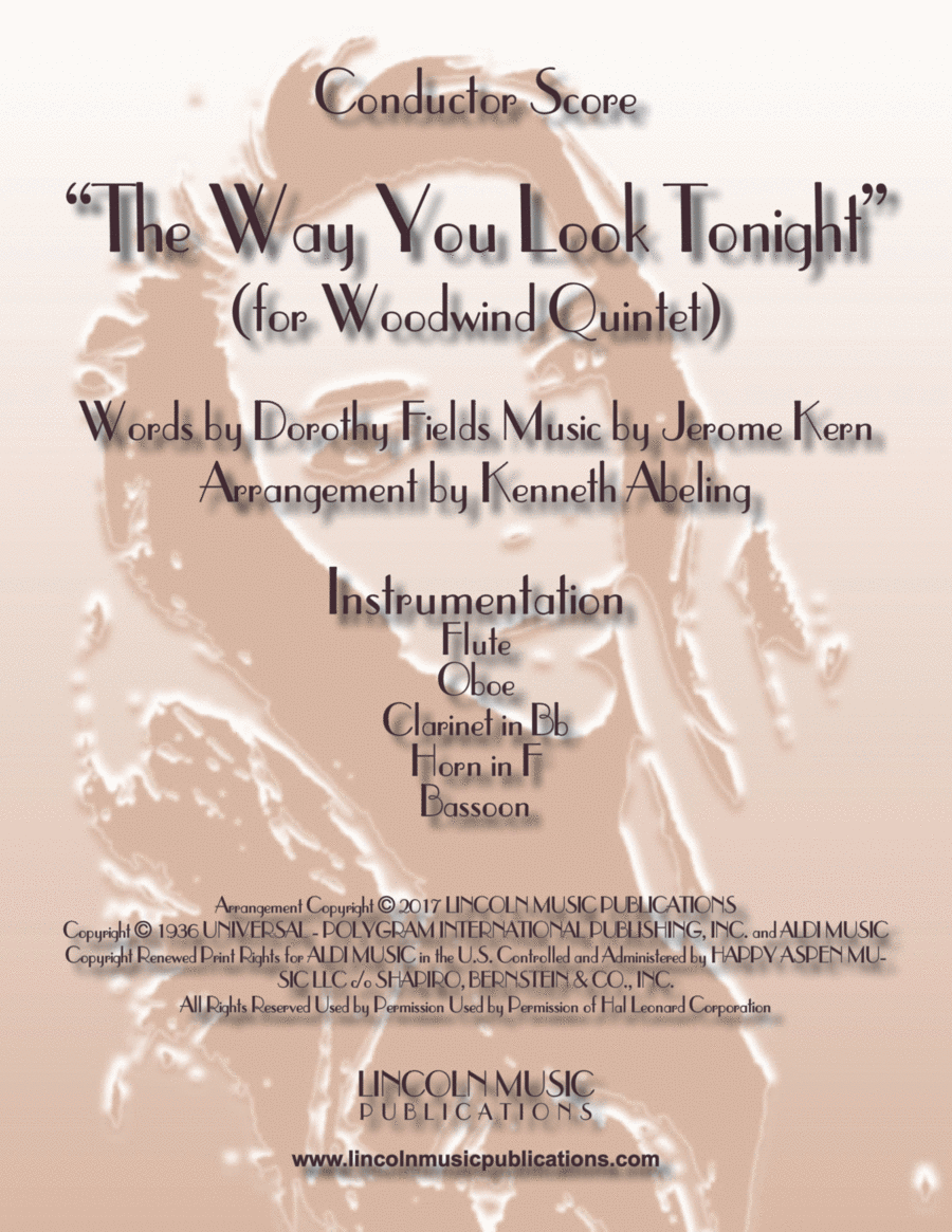 The Way You Look Tonight (for Woodwind Quintet)