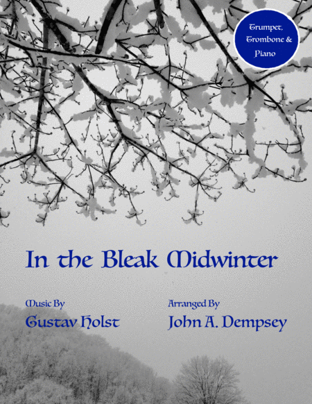 In the Bleak Midwinter (Trio for Trumpet, Trombone and Piano)