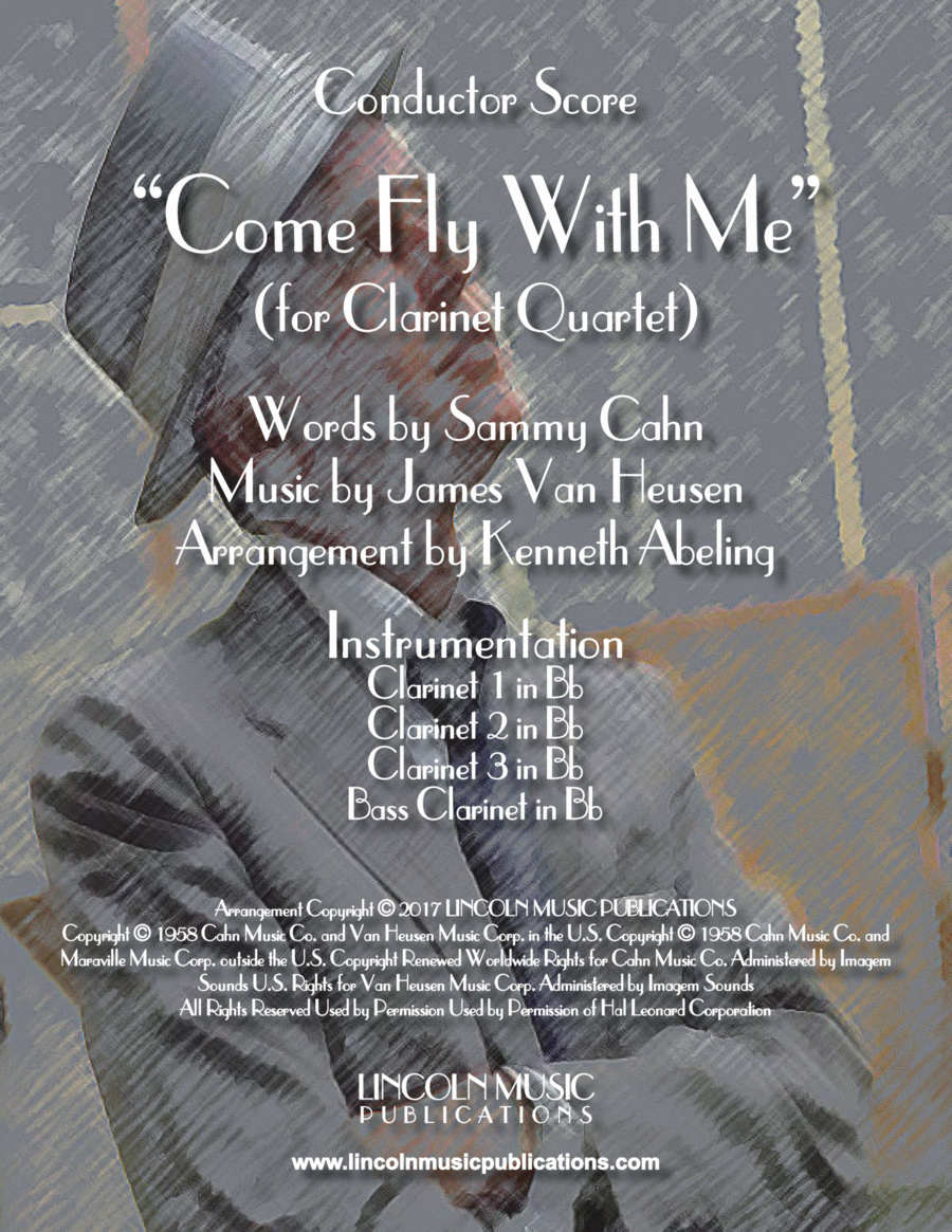 Come Fly With Me (for Clarinet Quartet)