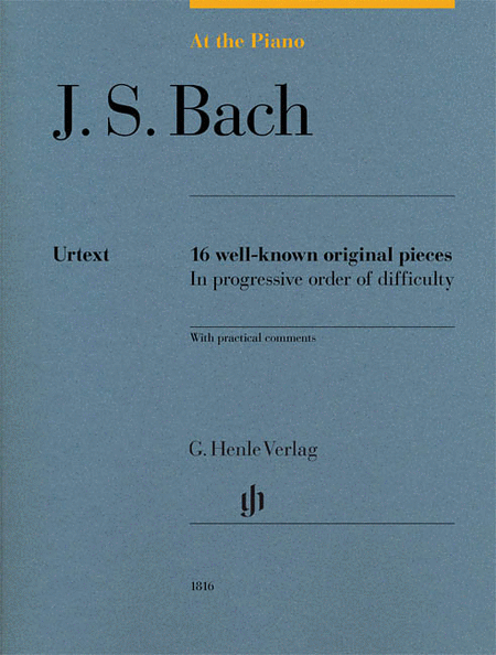 J.S. Bach: At the Piano