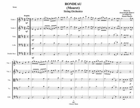 Rondeau (Mouret) - String Orchestra - Intermediate