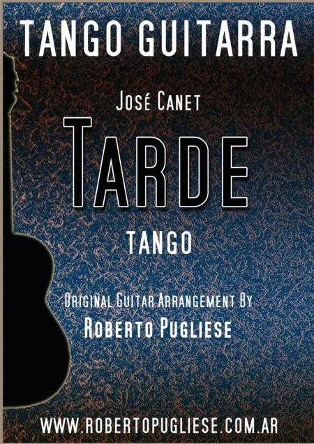 Tarde - tango guitar
