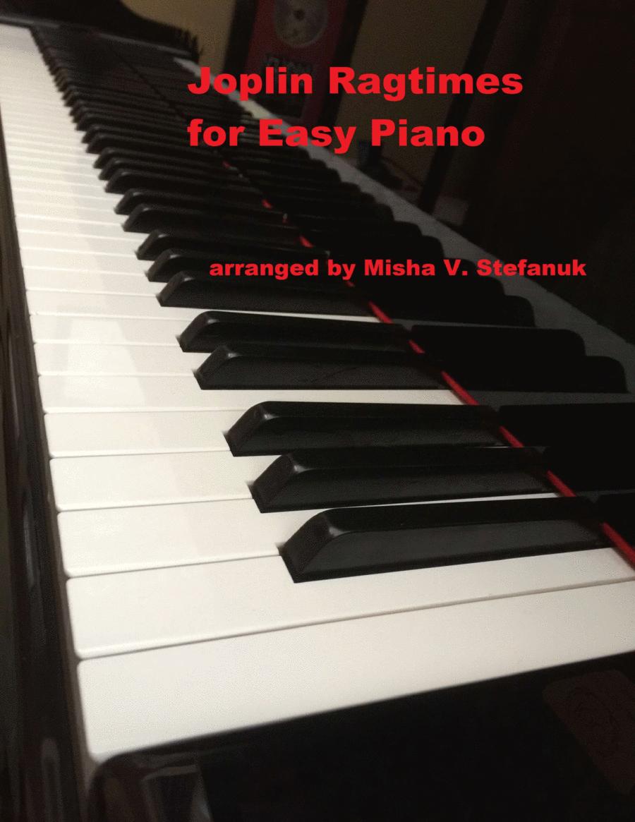 Scott Joplin Easy Piano Classics