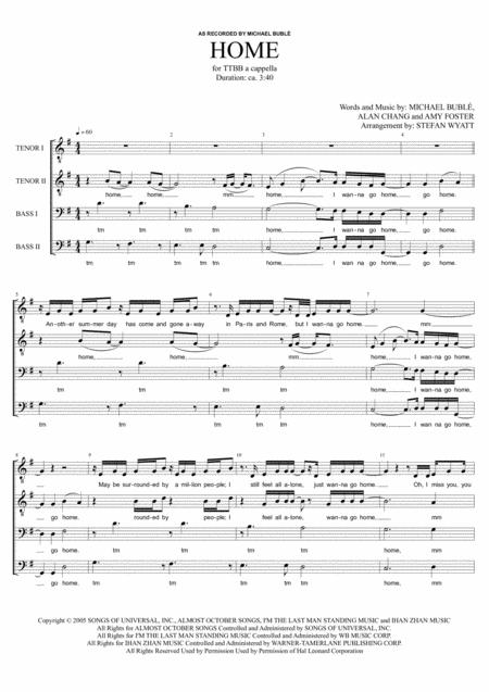 Home - TTBB a cappella
