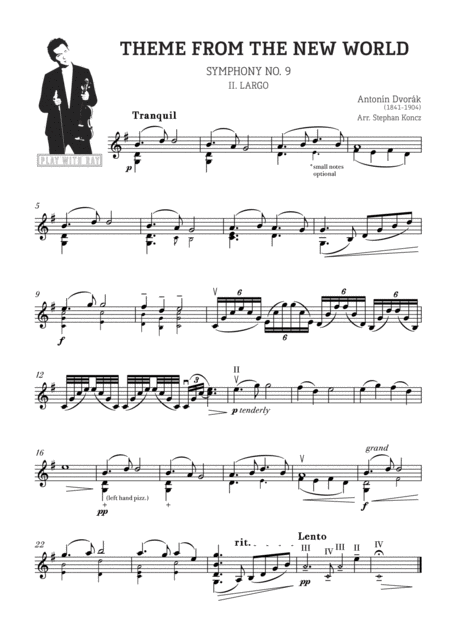 Play with Ray: Dvorak - Theme From The New World