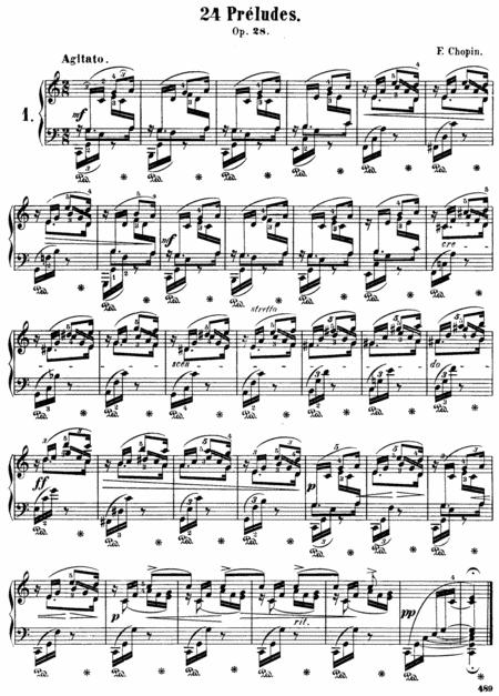 F.Chopin-Preludes, Op.28