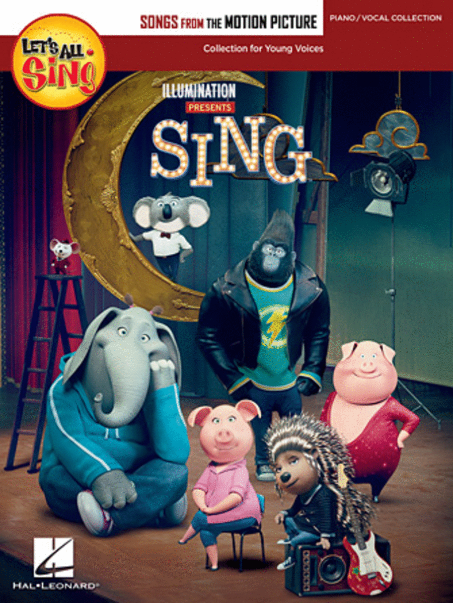 Let's All Sing Songs from the Motion Picture SING