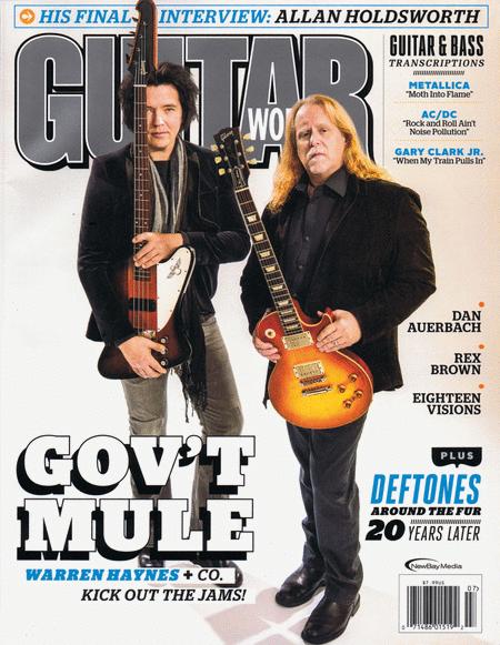 Guitar World Magazine July 2017