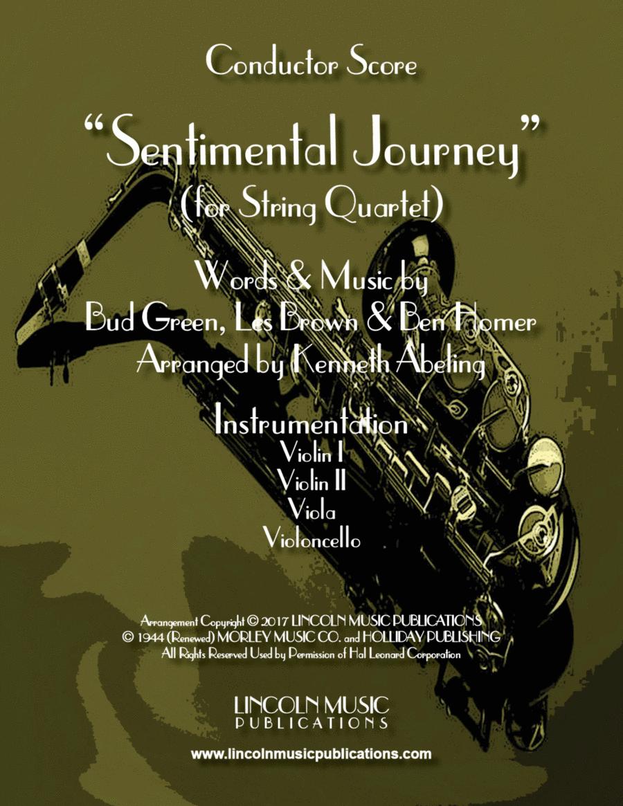 Sentimental Journey (for String Quartet)