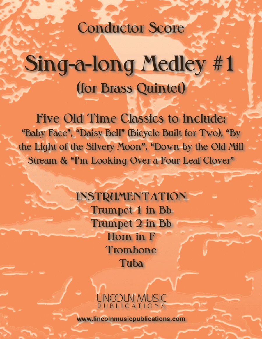 Sing-along Medley #1 (for Brass Quintet)