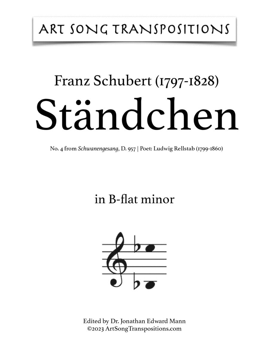 Ständchen, D. 957 (B-flat minor)