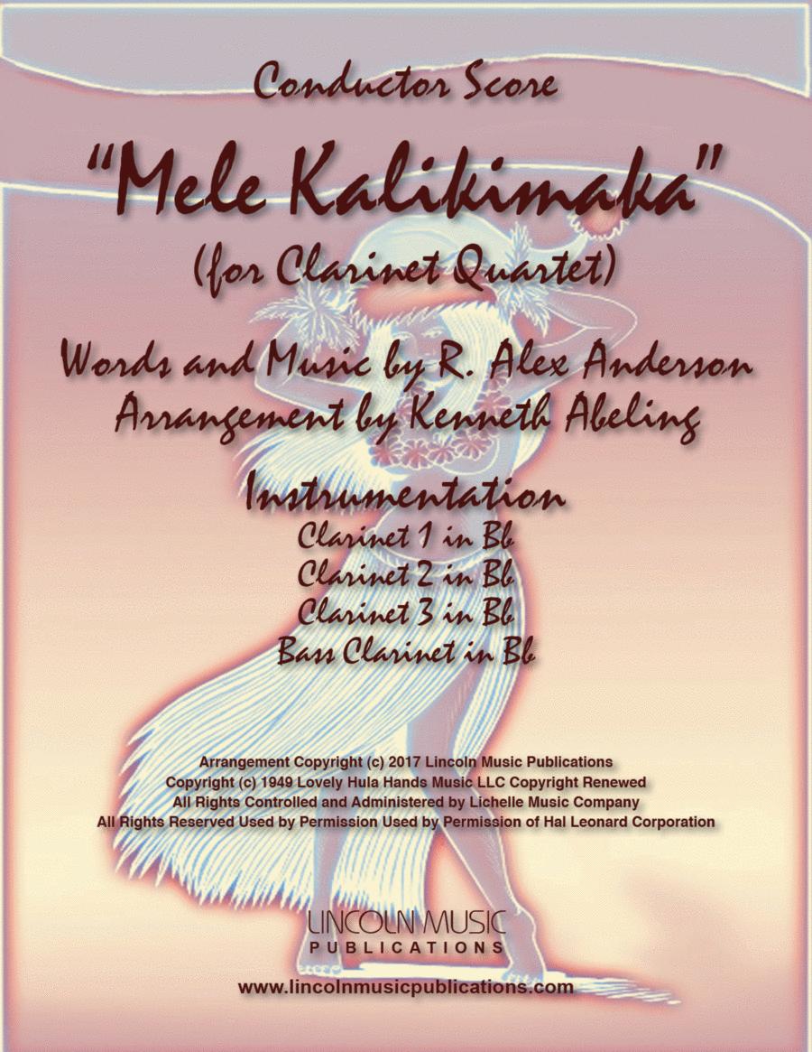 Mele Kalikimaka (for Clarinet Quartet)