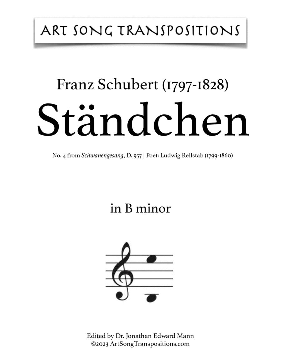 Ständchen, D. 957 (B minor)