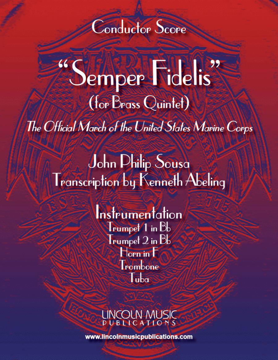 March - Semper Fidelis (for Brass Quintet)