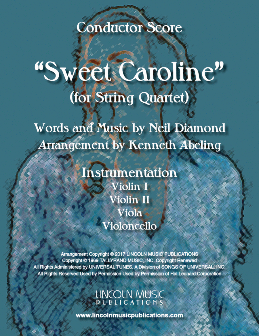 Sweet Caroline (for String Quartet)