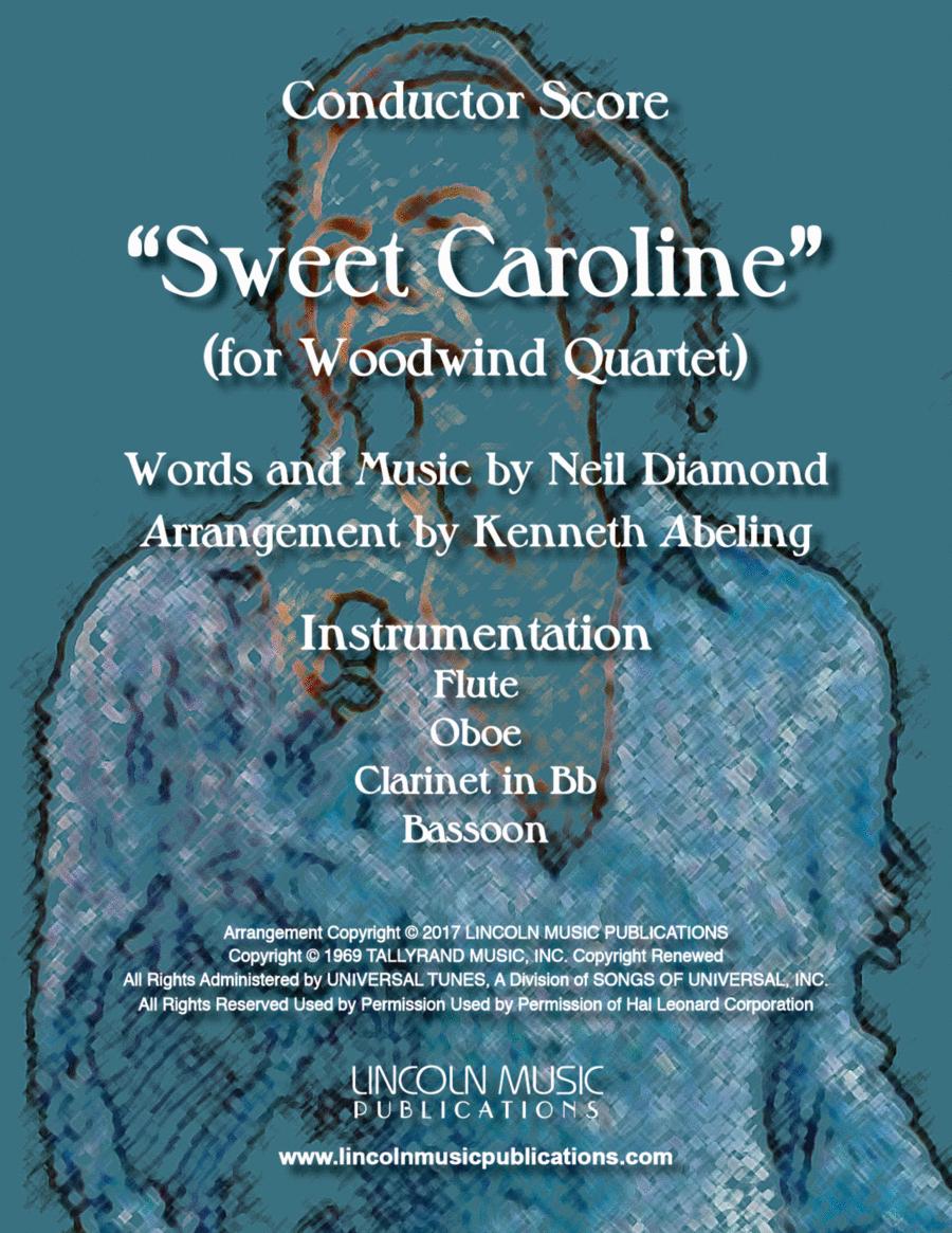 Sweet Caroline (for Woodwind Quartet)