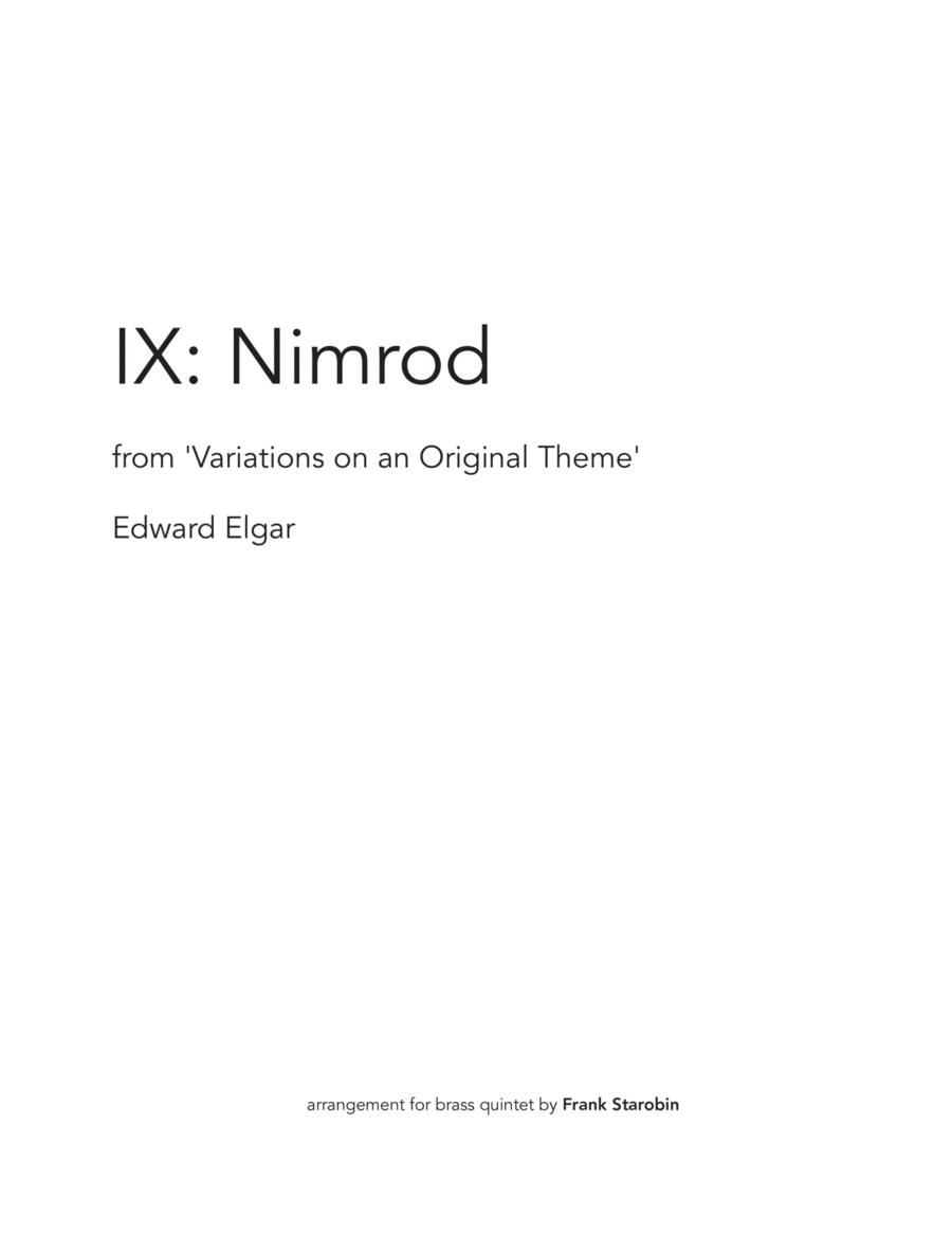 Nimrod for Brass Quintet