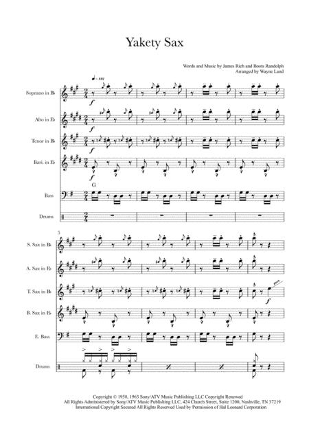 Yakety Sax (Sax Quartet)
