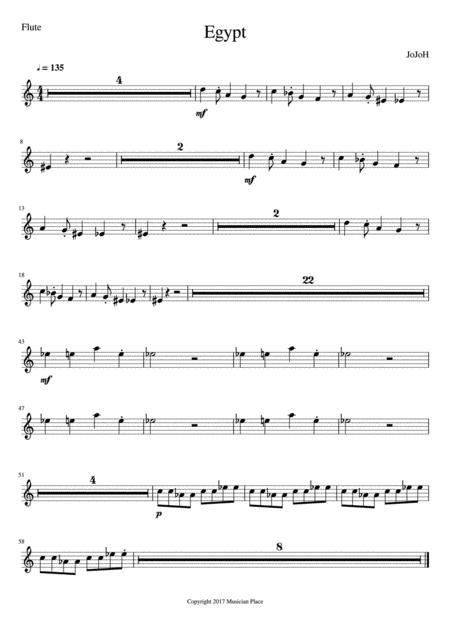 Egypt - Flute