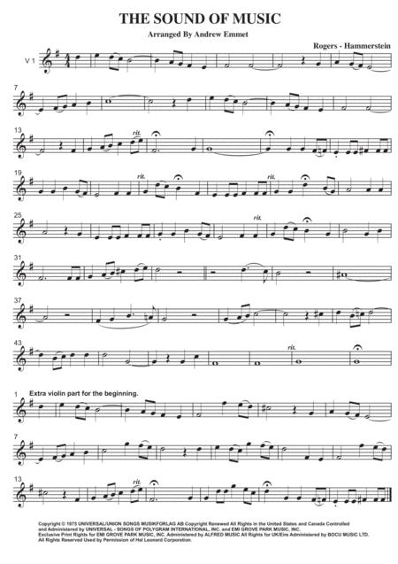 The Sound Of Music String Quartet