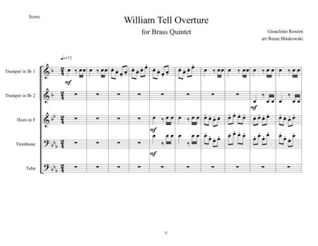 William Tell Overture - Brass Quintet