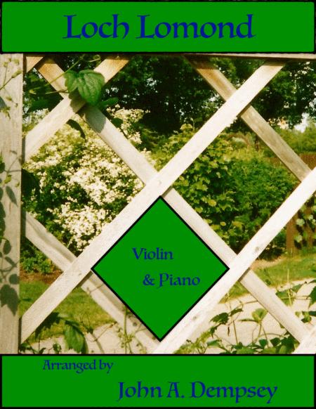 Loch Lomond (Violin and Piano)