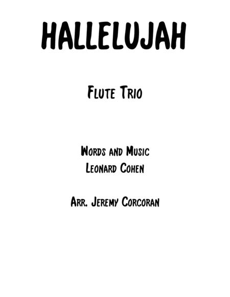 Hallelujah for Flute Trio