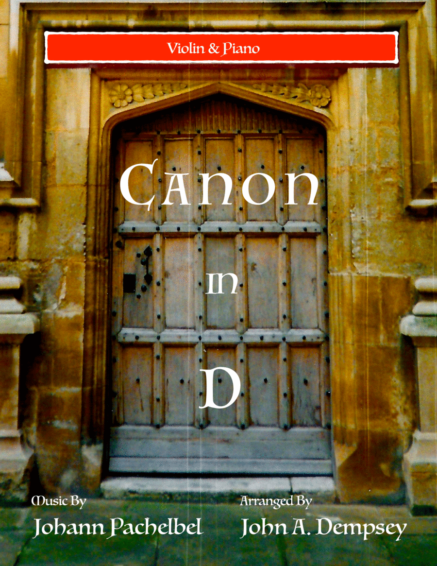 Canon in D (Violin and Piano Duet)