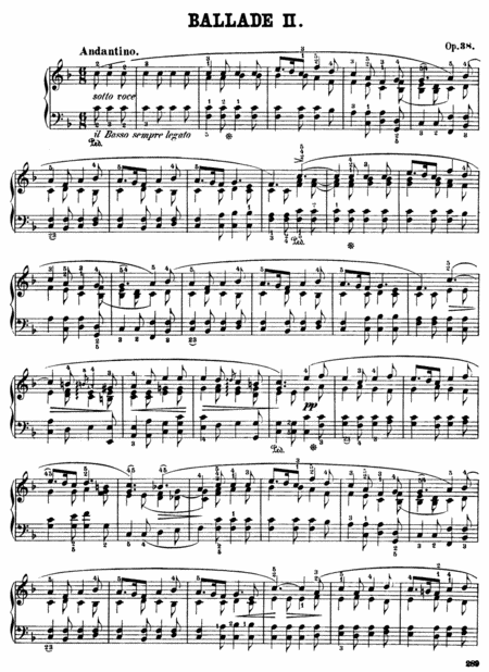 F.Chopin-Ballade No.2 in F major, Op.38