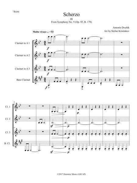 Scherzo (from Symphony No. 9 in E minor,