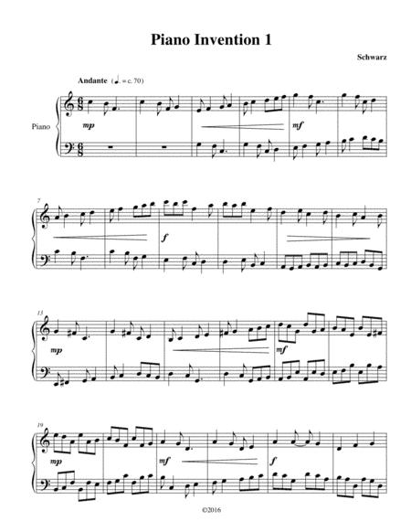 Piano Invention 1