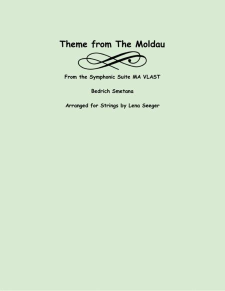 Theme from the Moldau (string trio)