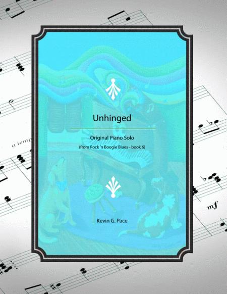 Unhinged Boogie - original piano solo